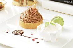 Mont Blanc cake from Carousel Cafe in Taipei Da-An district.