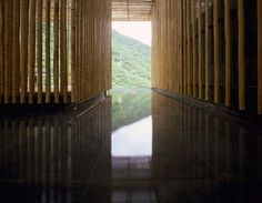 Great Bamboo Wall / Kengo Kuma & Associates | AA13 - blog - Inspiration - Design - Architecture - Photography - Art