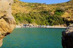 Μάγειρας ελεύθερο camping  - Mageiras beach free camping on evia island in greece