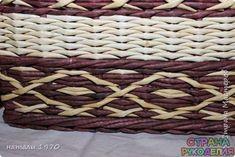 Узоры.Мастер-классы - Плетение из газет - Рукоделие - Страна рукоделия