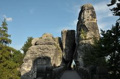 Wanderung Basteibrücke in der Sächsischen Schweiz