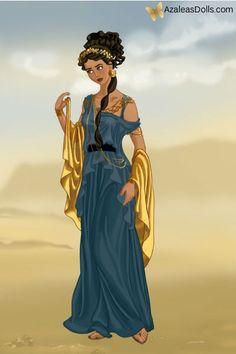 Roman Jasmine -- peplum! loooong peplum and short sleeves (capped?), a v-neck or scoop neck, a long gored skirt, a wide belt