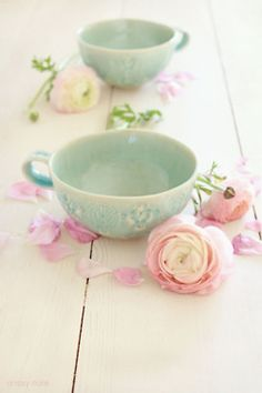 baby blue cups