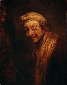 Rembrandt van Rijn – Self-Portrait, c.1668, oil on canvas, 82.5x65 cm | Wallraf-Richartz Museum, Cologne, Germany
