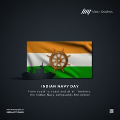 From coast to coast and at all frontiers, the Indian Navy safeguards the nation Indian Navy Day. Indian Navy Day, National Days, Nature Decor, Paper Decorations, Coast, Natural Decorating, Paper Ornaments, Paper Centerpieces, Streamer Decorations