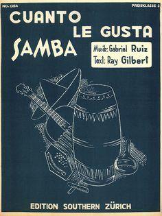 THE ANDREW SISTERS - GABRIEL RUIZ - CUANTO LE GUSTA - 1958 - SAMBA - MUSIKNOTE