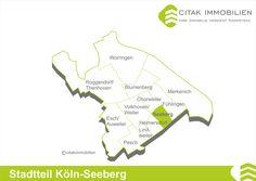 Stadtteil Köln-Seeberg Seeberg ist ein Stadtteil im Bezirk Chorweiler im linksrheinischen Köln. Seine Nachbarstadtteile sind Chorweiler im Norden, Fühlingen im Osten und Heimersdorf im Westen. Im Süden grenzt es an den Stadtteil Longerich im Stadtbezirk Nippes.