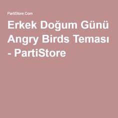 Erkek Doğum Günü Angry Birds Teması - PartiStore