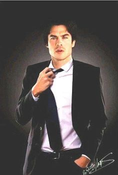 There is just something about an attractive man in a suit that just does it for me...