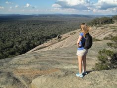 Bald Rock National Park in NSW