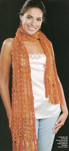 Hairpin Crochet Scarf Pattern