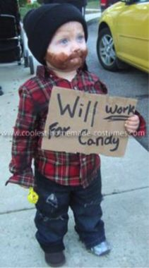 Oh my, this is better than the homemade lumber jack costume I made for Kenyon when he was 2!!!  Love it!!!