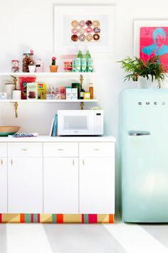 yes and yes: 4 Ways To Disguise Horrible, Ugly Kitchen Cupboards