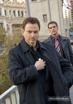 Gary Sinise and Eddie Cahill in CSI: New York