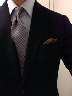 Vintage cashmere SC Mattabisch by Kiton shirt Charvet tie Drakes wool silk PS Creed Neroli Sauvage