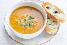 Zupa z cukinii z pomidorami