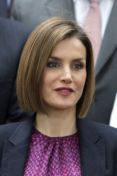Reines & Princesses - Queen Letizia attended a working meeting with the association of student residences in Madrid.