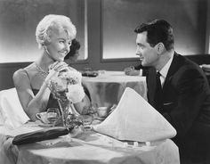Doris Day and Rock Hudson As Jan Morrow and Brad Allen in Pillow Talk (1959)