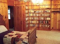 The El Dorado Ranch / Family Retreat Vacation Rental in Mountain Ranch, CA #vacation #rental #travel #weddings #eldoradoranch (Main House Bedroom)