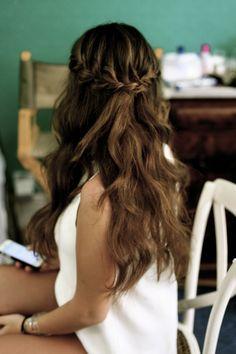 Love this hair Hair Inspo, Chloe, Hair Makeup, Braids, Hair Beauty, Long Hair Styles, Hair Ideas, Hairstyles, Fashion