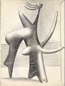 Study of Cannes, 1927 by Pablo Picasso, Neoclassicist & Surrealist Period. Kunst Picasso, Pablo Picasso Drawings, Art Picasso, Picasso Paintings, Georges Braque, Desenhos Pablo Picasso, Pablo Picasso Zeichnungen, Cannes, Deviantart Drawings