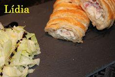 TRENZA DE HOJALDRE RELLENA DE POLLO | Cocina