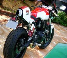 Cbr Cb 450 Cafe Bike Honda Street Bikes Design