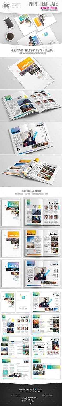 Professional Business Profile Template Kreatype Business Proposal  Pinterest  Proposal Templates .