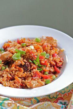 Eat Good 4 Life » Cajun Chicken Jambalaya