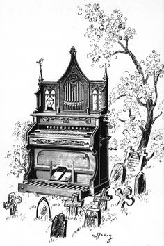 Organ: The Imaginary Instruments of Gerard Hoffnung (1957-1959)