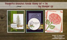 Holly Krautkremer, Thoughtful Branches, Beautiful Branches, Stamp Review Crew, Stampin Up