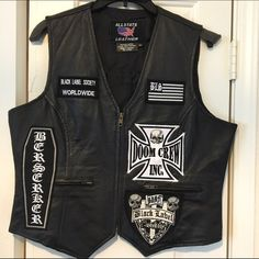 de01c85223d8f Black Label Society Vest with Patches. What others are saying.  M 57c1cdcb620ff74f21007180