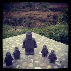 Concrete Lego Men Lego Men, Concrete Design, Resin Art, Kiwi, New Zealand, Instagram, Ideas