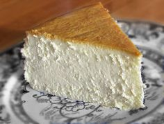 New York Cheese Cake Recipe Love it!!!! Can't wait to make it - this one is crustless, like it should be!