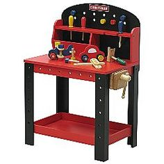 Carpentry kids tools workbench toy workbench gift giver grand kids