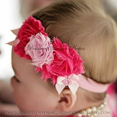 Site for flowers, bows, headbands and DIY kits.