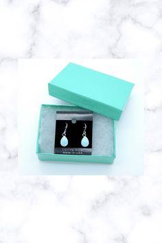 7x10mm Teardrop Cabachon Blue Fire Opal 925 Sterling Silver Dangle Earrings Sterling Silver Dangle Earrings, Fantasy Jewelry, Opal, Dangles, Handmade Items, Shapes, Gemstones, Fire, Gems