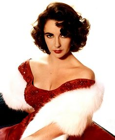 Elizabeth Taylor in red