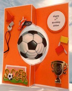 Spinning Soccer Balls by Em1941 - Cards and Paper Crafts at Splitcoaststampers