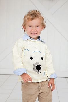 Polar Bear Sweater by Lorna Miser on Ravelry.com