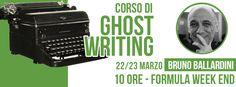 Il corso di Ghostwriting a cura di Bruno Ballardini!