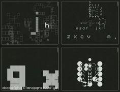 John Maeda, Tap, Type, Write, al 1998. 4t llibre de la col·lecció de Reactive Books de John Maeda.