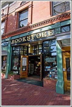 Boulder book store - where our written books go. Book Cafe, Book Store Cafe, Shop Fronts, Shop Around, Library Books, Reading Books, Book Nooks, I Love Books, Book Nerd