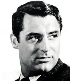 Cary Grant...handsome.