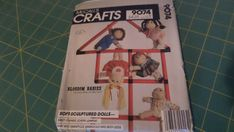 Soft Sculpture, Presents, Baseball Cards, Dolls, Crafts, Gifts, Baby Dolls, Manualidades, Puppet