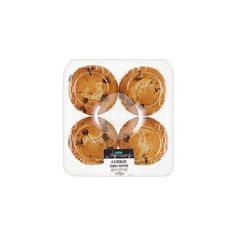 ASDA Chosen by You Chocolate Chunk Muffins (€1,38) ❤ liked on Polyvore featuring food, fillers, food and drink and food & drinks