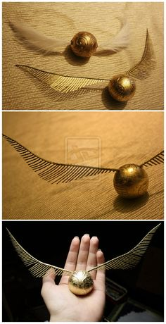 Getting a Golden Snitch tattoo