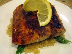 blackened mahi mahi, sending anthony to the store to get the ingredients right now & cooking it for dinner! YUM :)