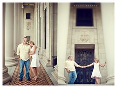engagement photo session of Marcy Novak and Kyle Gilbert in Aggieland College Station on the Texas A University campus by Dallas Aggie wedding photographer Stacy Reeves