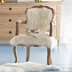 Faux-Fur Ooh La La Chair $399! #pbteen